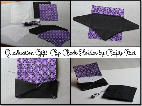 Grad Cap Check Holder - Crafty Staci