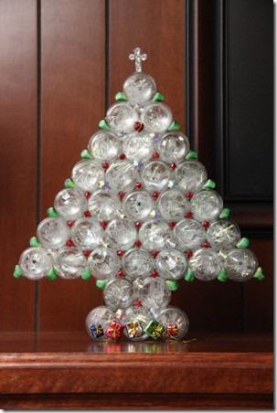 Pharmacy Bottle Christmas Tree — Crafty Staci