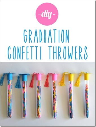 Graduation Confetti Throwers - Evite