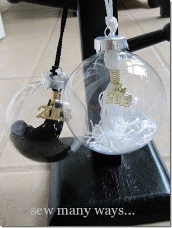 Graduation Tassel Ornament - Sew Many Ways