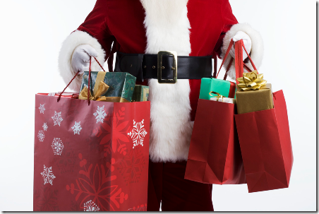 Santa shopper