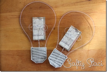 Light Bulb Graduation Gift - Crafty Staci 1