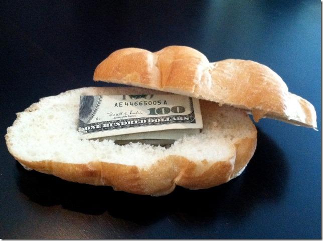 面团面包按风格行李