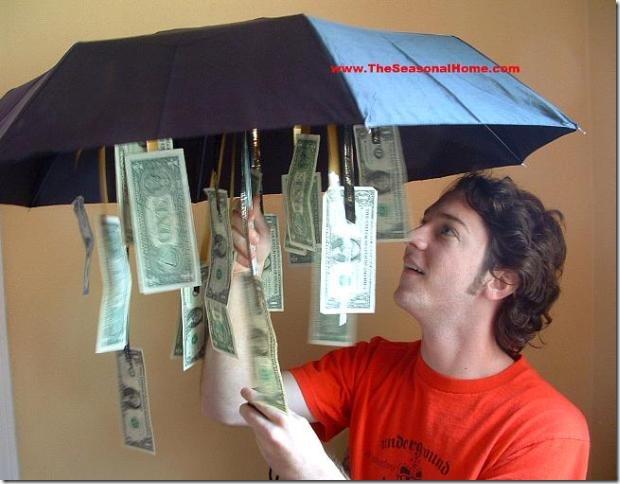 季节性房屋下雨