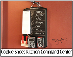 Cookie Sheet Kitchen Command Center