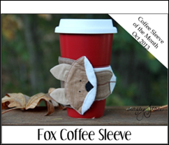 Fox Coffee Cup Sleeve