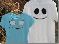 Jack and Sally T Shirts - Crafty Staci 4