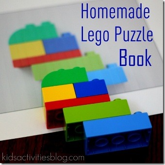 Lego Puzzle Book by Kids Activities Blog