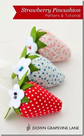 草莓枕形-葡萄道下