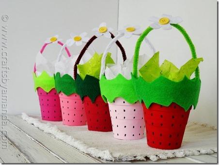 草莓点心杯-阿曼达的工艺品