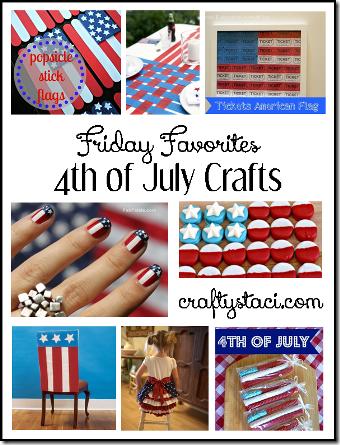 7月4日工艺品-周五Crafty Staci的最爱