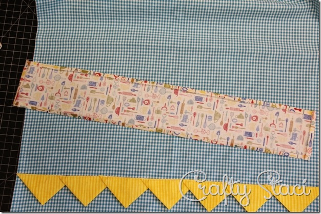 Embellished Kitchen Towels - Crafty Staci 10