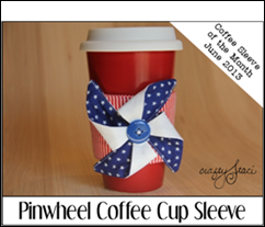Pinwheel Coffee Cup Sleeve