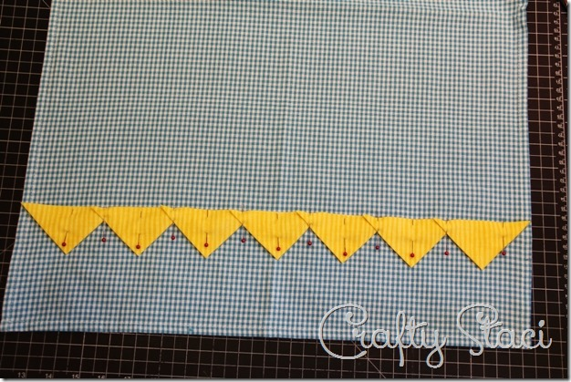 Embellished Kitchen Towels - Crafty Staci 9