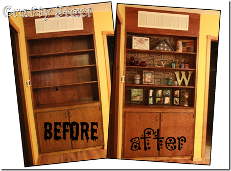 Before and After - Built-in background - Crafty Staci