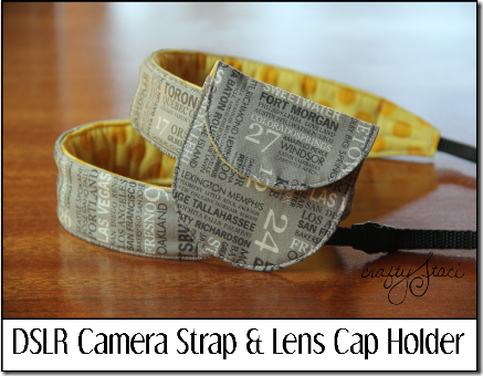 Camera Strap and Lens Cap Holder
