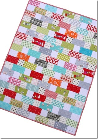 Cherry Christmas Quilt 1