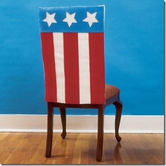 Fourth of July Chair Covers by Spoonful