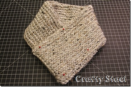 Buttoned Neck Warmer - Crafty Staci 4