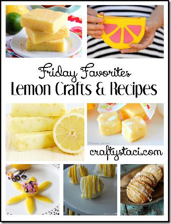 柠檬工艺品和食谱-Crafty Staci的星期五收藏夹