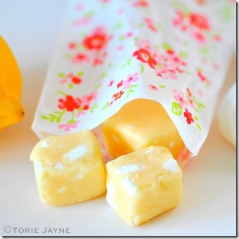 Lemon Meringue Fudge by Torie Jayne