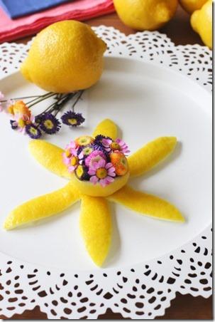 每日挤柠檬皮花
