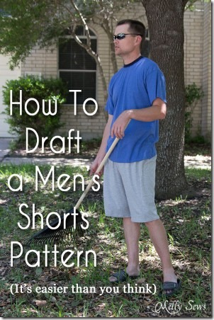 Men's Shorts Pattern by Melly Sews