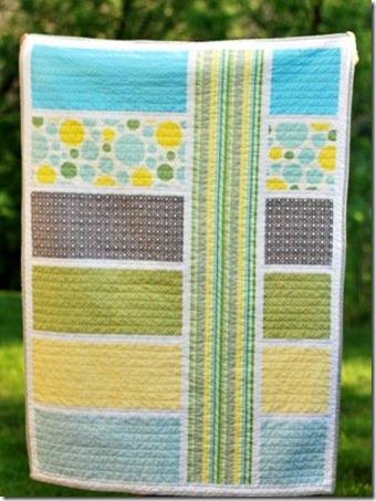 modern baby quilt 3