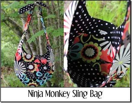 Ninja Monkey Sling Bag