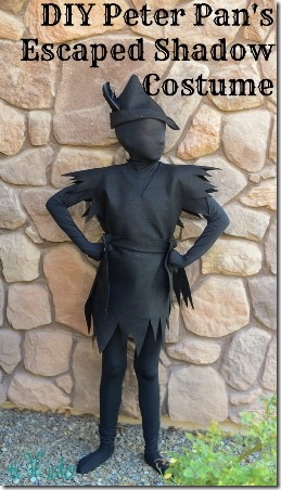 Tikkido的DIY彼得潘的影子服装