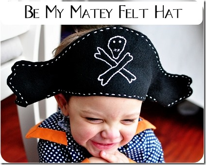 Felt Pirate's Hat by Simple Simon and Company