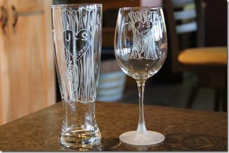 产品评论-个性化树干玻璃器皿二重奏-Crafty Staci 4