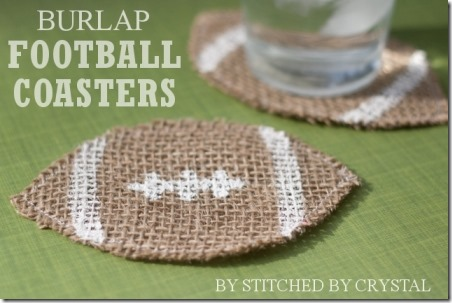 Football Coasters from Snap