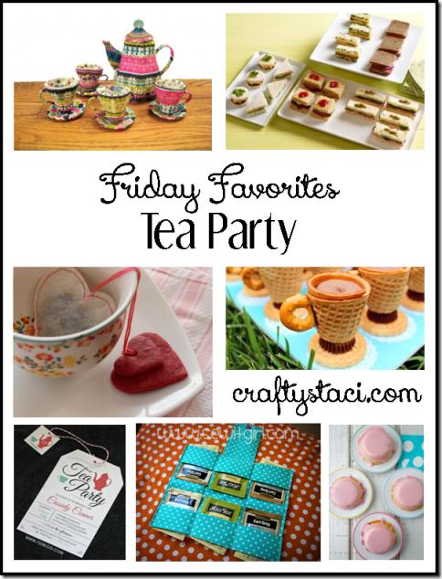 茶党手工艺品和食谱-Crafty Staci