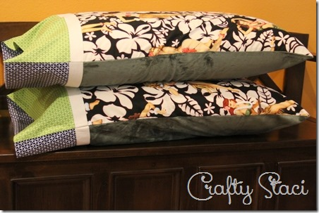 Hot and Cold Pillowcase - Crafty Staci 15