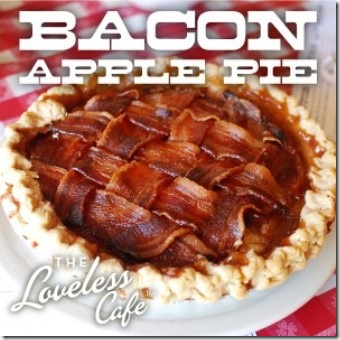 Bacon Apple Pie from The Loveless Cafe