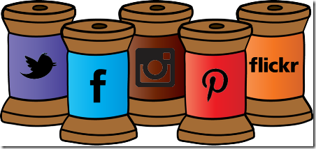 社交媒体线轴