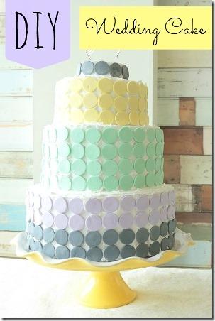糖果薄酥饼婚礼蛋糕亲密的婚礼