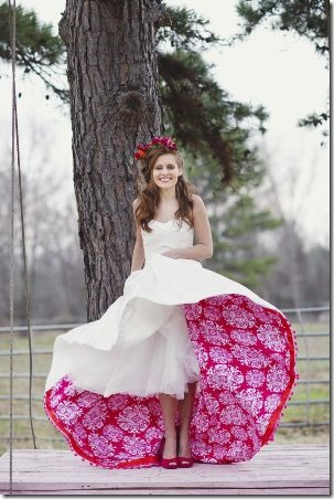 Colorful Wedding Dress Underskirt from One Wed