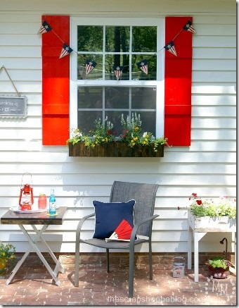 DIY Shutters by The Scrap Shoppe
