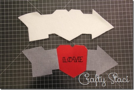Heart and Arrow Coffee Sleeve - Crafty Staci 5