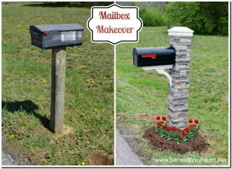Mailbox Makeover by Beneath My Heart