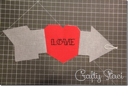 Heart and Arrow Coffee Sleeve - Crafty Staci 6
