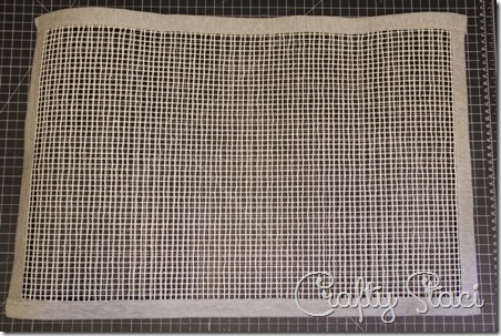 Knotted Knit Rug - Crafty Staci 5