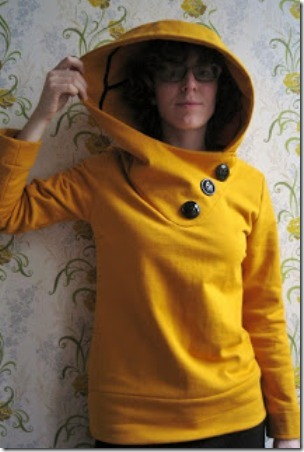 Mustard Hoodies from Small Things