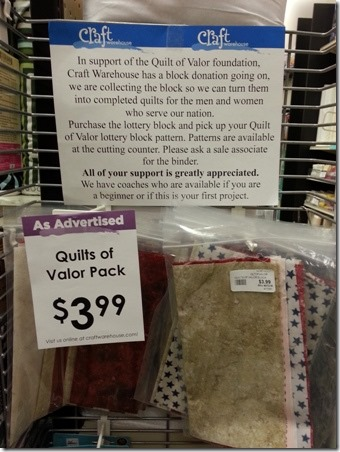 Quilts of Valor - Crafty Staci 1