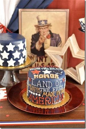 7月4日,老式党的可打印物的军队,美洲,党的供应品11