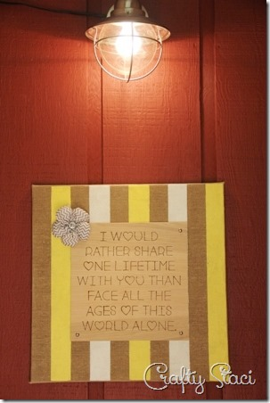 One Lifetime Sign - Crafty Staci 4
