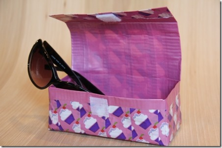 Duct Tape Sunglass Holder - Crafty Staci 2