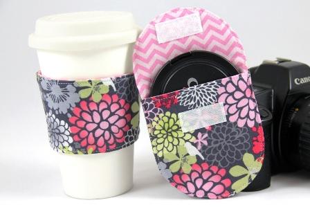 咖啡套和镜盖袋-Crafty Staci